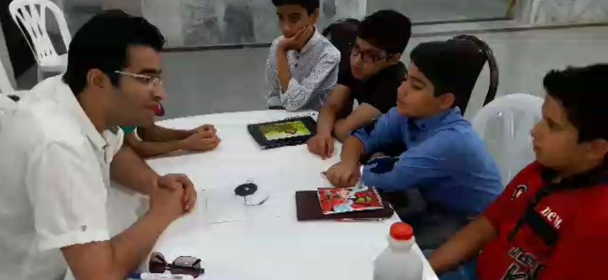 کلاس رباتیک (موسسه علمی پژوهشی شعف)