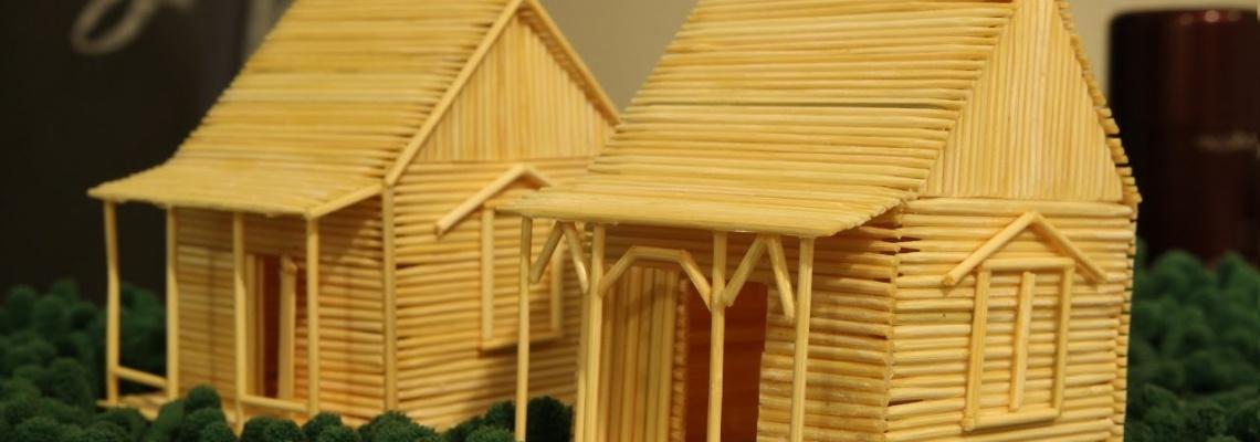 کاردستی با چوب خلال