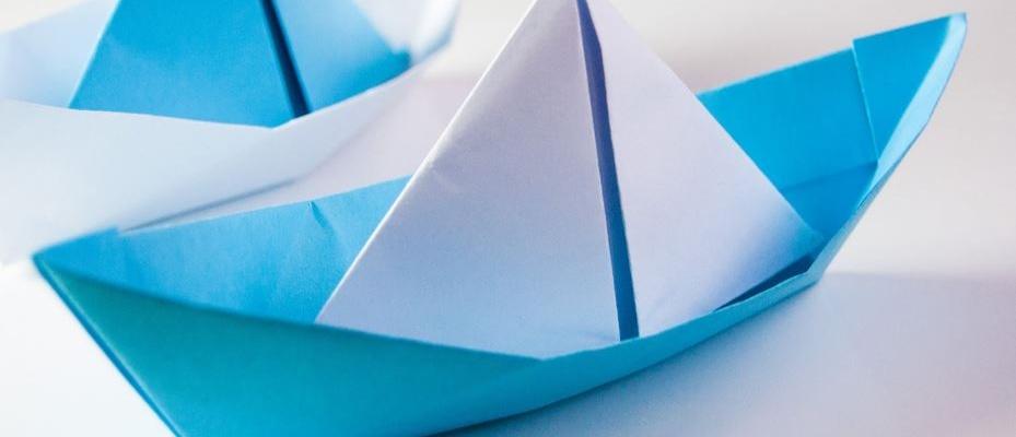 ساخت قایق اوریگامی