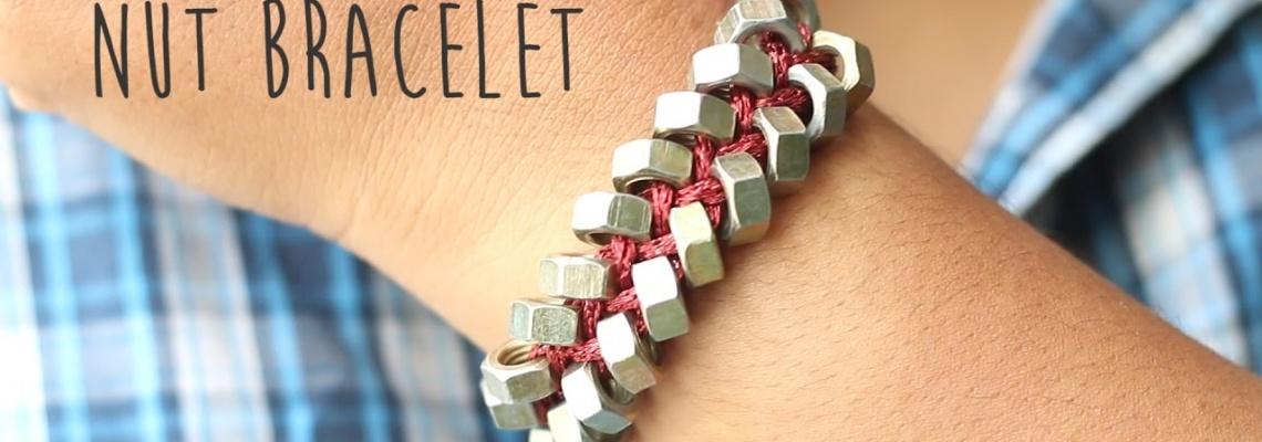 آموزش ساخت دستبند با مهره