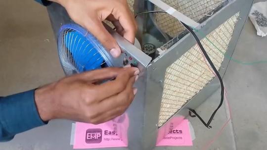 آموزش ساخت کولر آبی