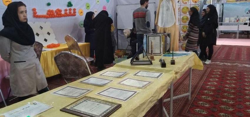 غرفه موسسه شعف در نمایشگاه هفته پژوهش