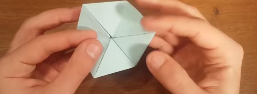آموزش ساخت اوریگامی متجرک
