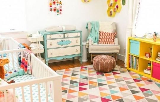 تاثیر فضای اتاق کودک در رشد فکری او