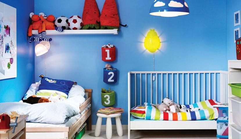 اتاق کودک و رشد فکری