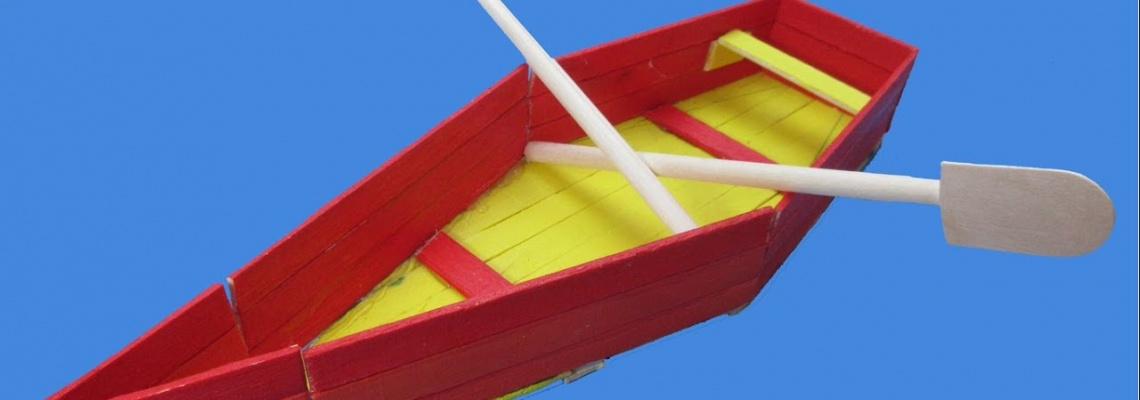 آموزش ساخت قایق با چوب بستنی