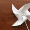 آموزش ساخت فرفره کاغذی