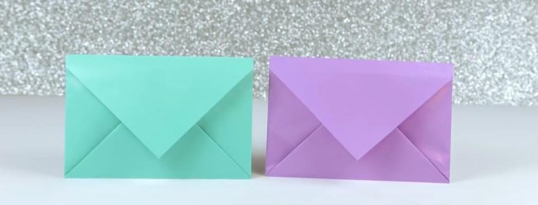 آموزش ساخت پاکت نامه