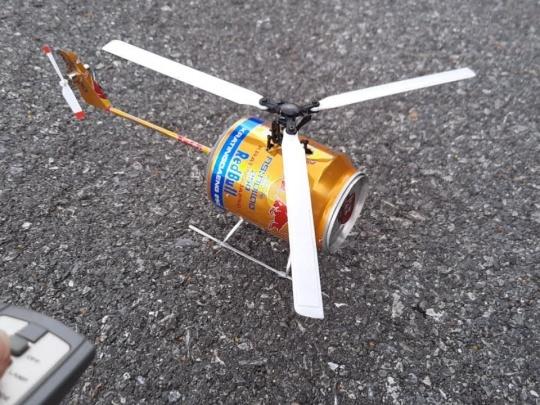 آموزش ساخت هلیکوپتر