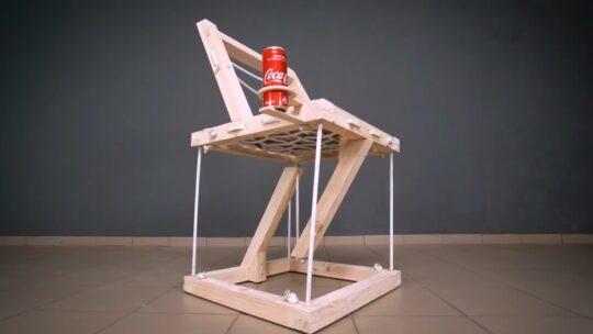 خلاقیت در ساخت صندلی معلق