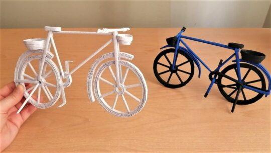 دوچرخه کاغذی