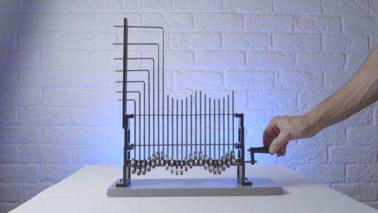 ماشین نمایش امواج