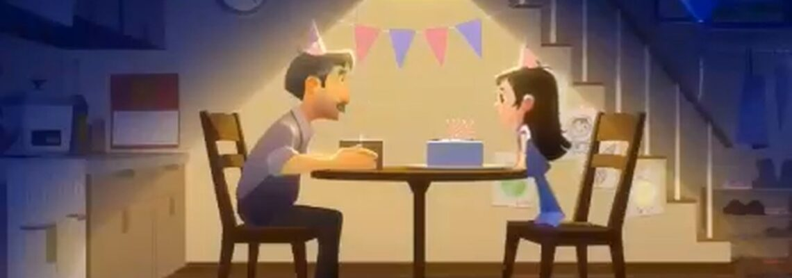 "انیمیشن کوتاه ""یک گام کوچک"""